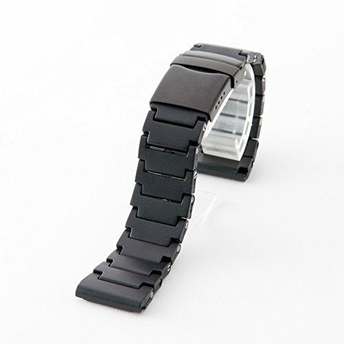 【タッチ・ザ・スカイ】Touch The Sky 腕時計 ベルト TPSiV シリコン バンド 23mm 汎用 【交換キット付TTSオリジナルセット】 ブラック