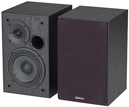 【日本正規代理店品】Edifier ブックシェルフ型アクティブスピーカー 入力2系統 (PC&AUX) ED-R1100