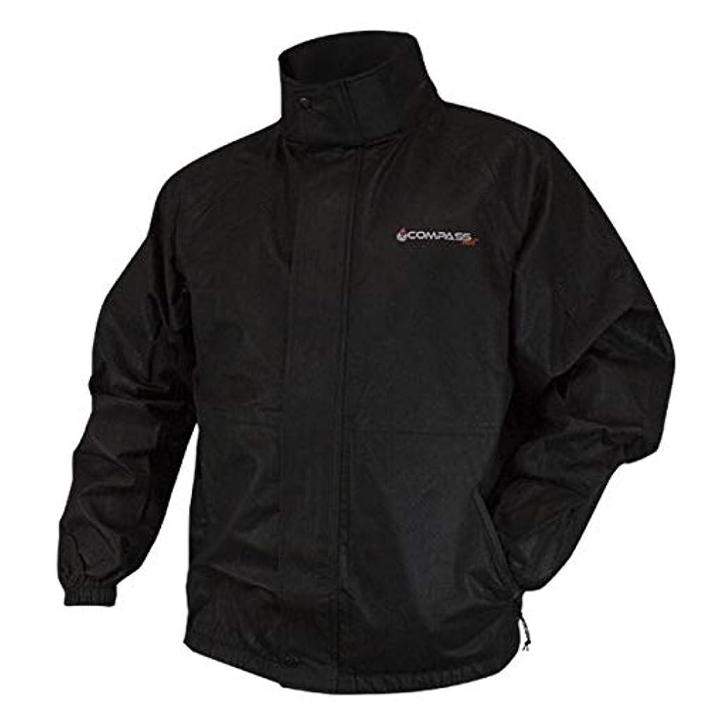 ゲージ低い勤勉コンパスat23102 – 10 – 3 x advantagetek t50雨ジャケット、ブラック、3 x l