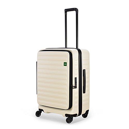 LOJEL ロジェール | CUBO-M ハードキャリー【62cm】 ホワイト (旅行用品)