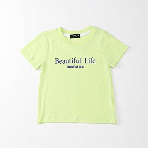 (コムサ イズム) COMME CA ISM ファミリーTシャツ(キッズサイズ) 98-61TF03-108 120cm イエローグリーン