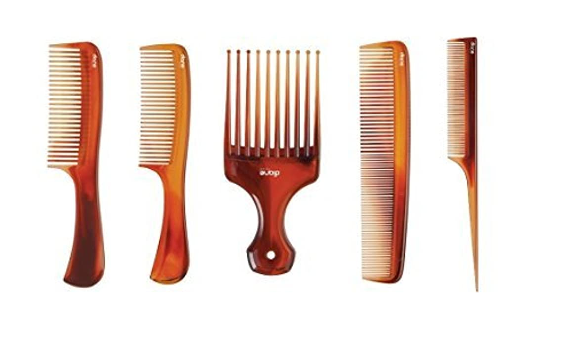 スタウトなす観察するMayaBeauty (5-pack) Tortoise Comb Kit (Includes: Lift Comb/Pik, Large Shampoo Comb,Small Shampoo Comb, Dressing...