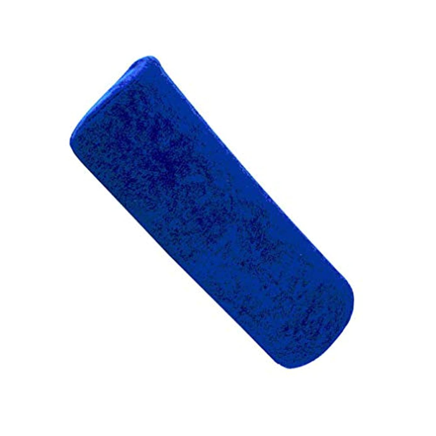反応する死んでいるストライプ1st market プレミアムマニキュアショップソフトハンドレストクッション枕ネイルアートデザインマニキュアケアトリートメントサロンツールロイヤルブルー