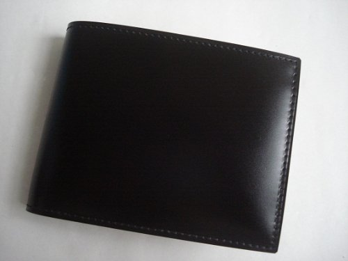 GANZO(ガンゾ)cordvan コードバン 折財布 ブラック
