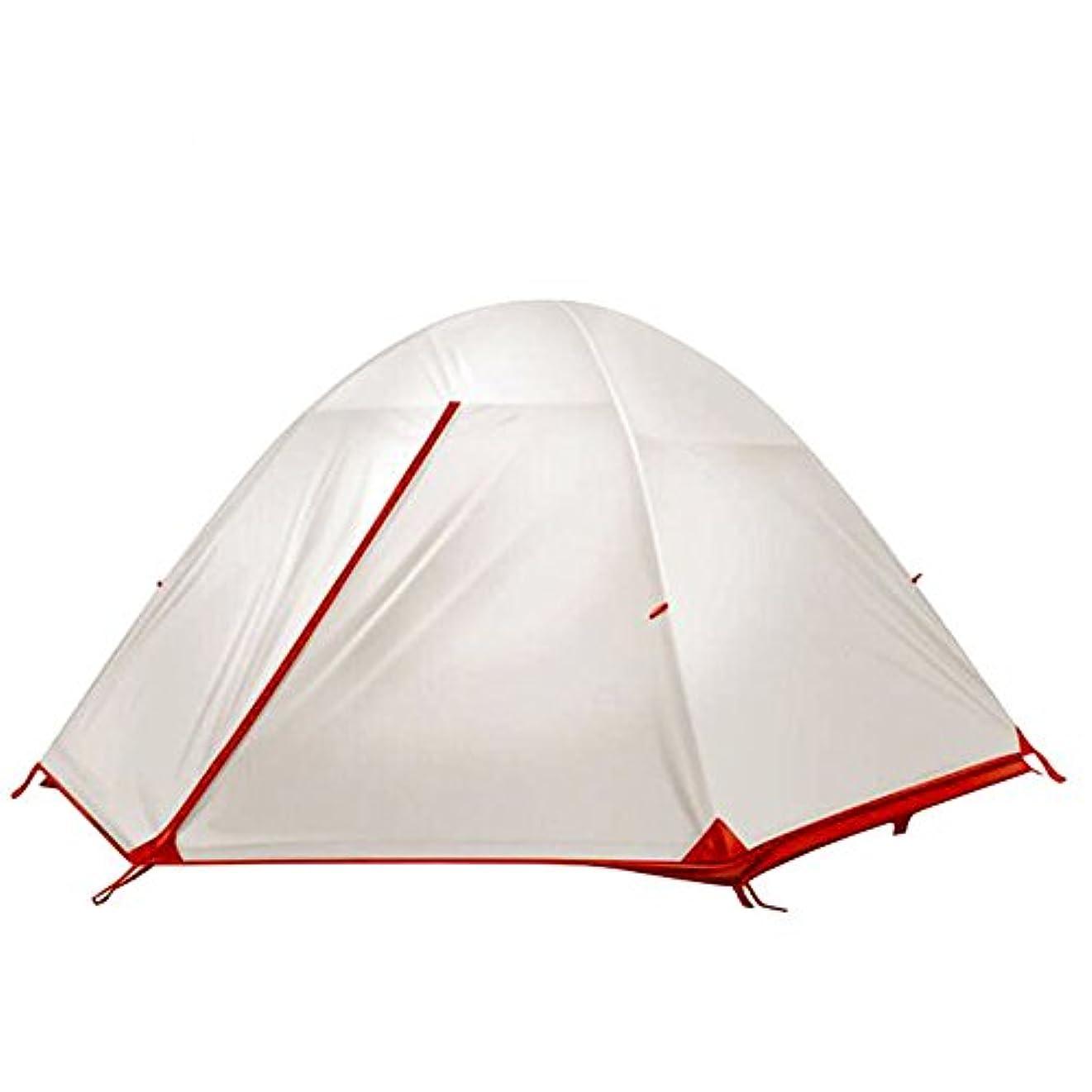 ぼろ可能性言うまでもなくテント 2人用 シリコンコーディング 耐水圧5000 アルミポール 軽量 登山 キャンプ アウトドア用
