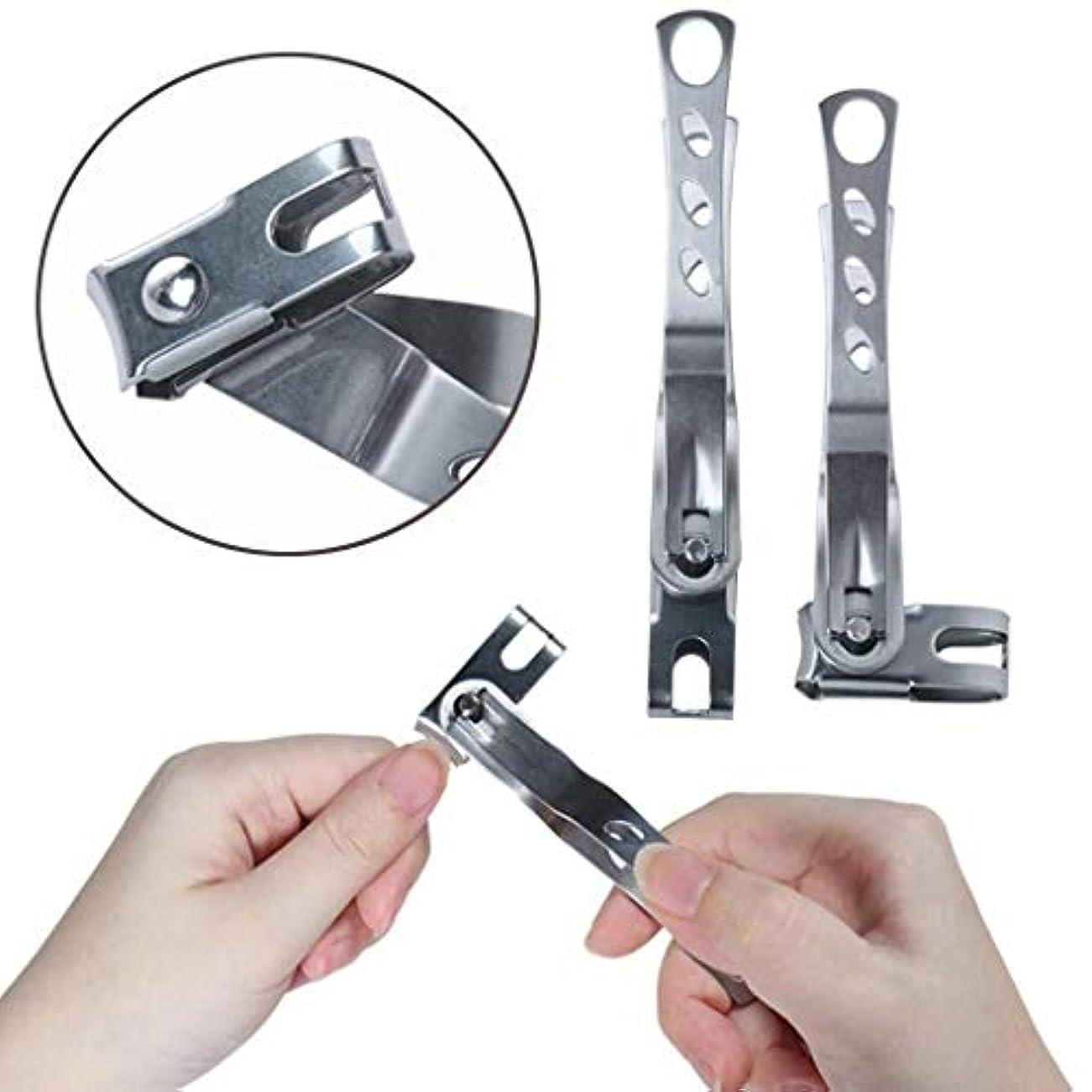非常に上院錆び360度回転ネイルバリカン、430ステンレス鋼ペンチ指のつま先ネイルはさみマニキュアツール
