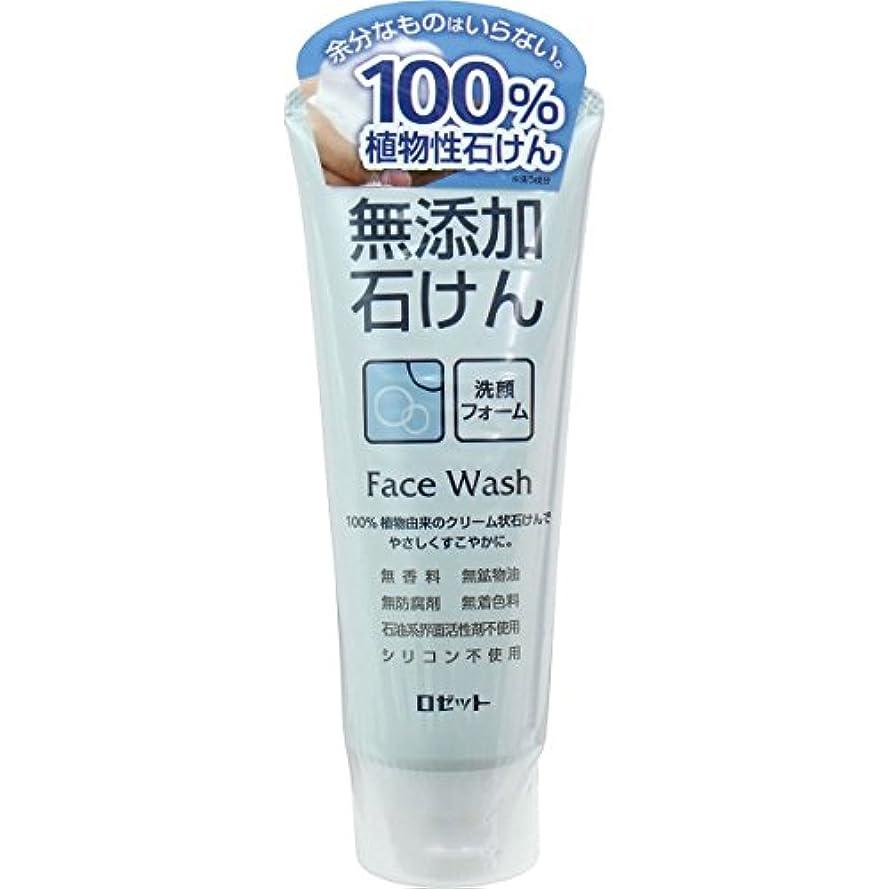 悪意ラッチ入場料【ロゼット】無添加石けん 洗顔フォーム 140g ×20個セット