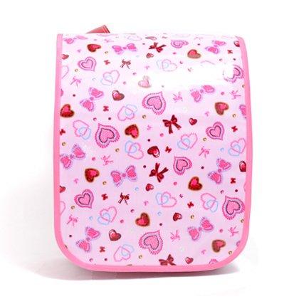 ワクワク通学 ランドセルカバー ハートとリボンのきらきらビューティー(ピンク) 日本製 N4118400 女の子