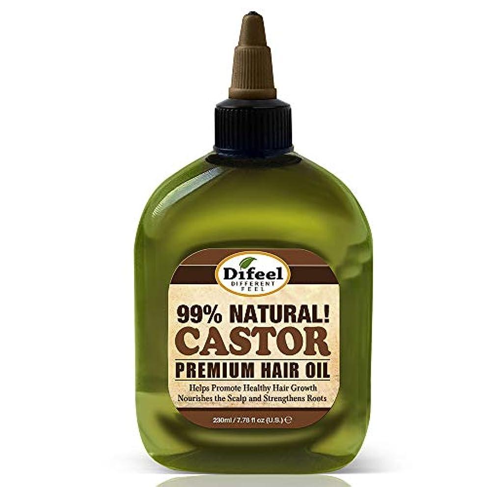 副未払い振動するディーゼルプレミアムナチュラルヘアオイル - ヒマシ油8オンス。