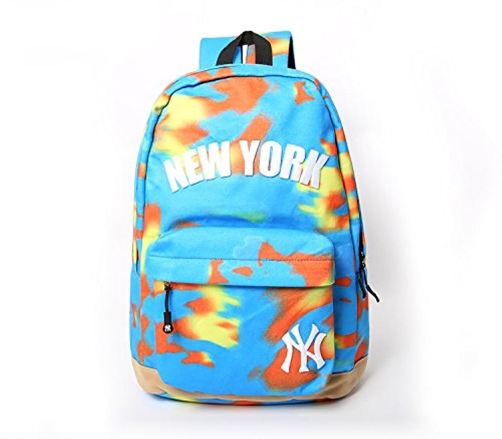 窒息させるヤングレタスリュックサック バックパック ニューヨークヤンキース NewYork Yankees NY MLB ロゴ 刺繍 メンズ レディース リュック タイダイ 柄