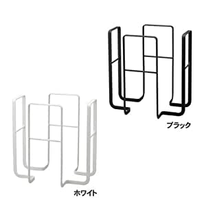 山崎実業 新聞紙ストッカー ニューズラック タワー ホワイト 6471