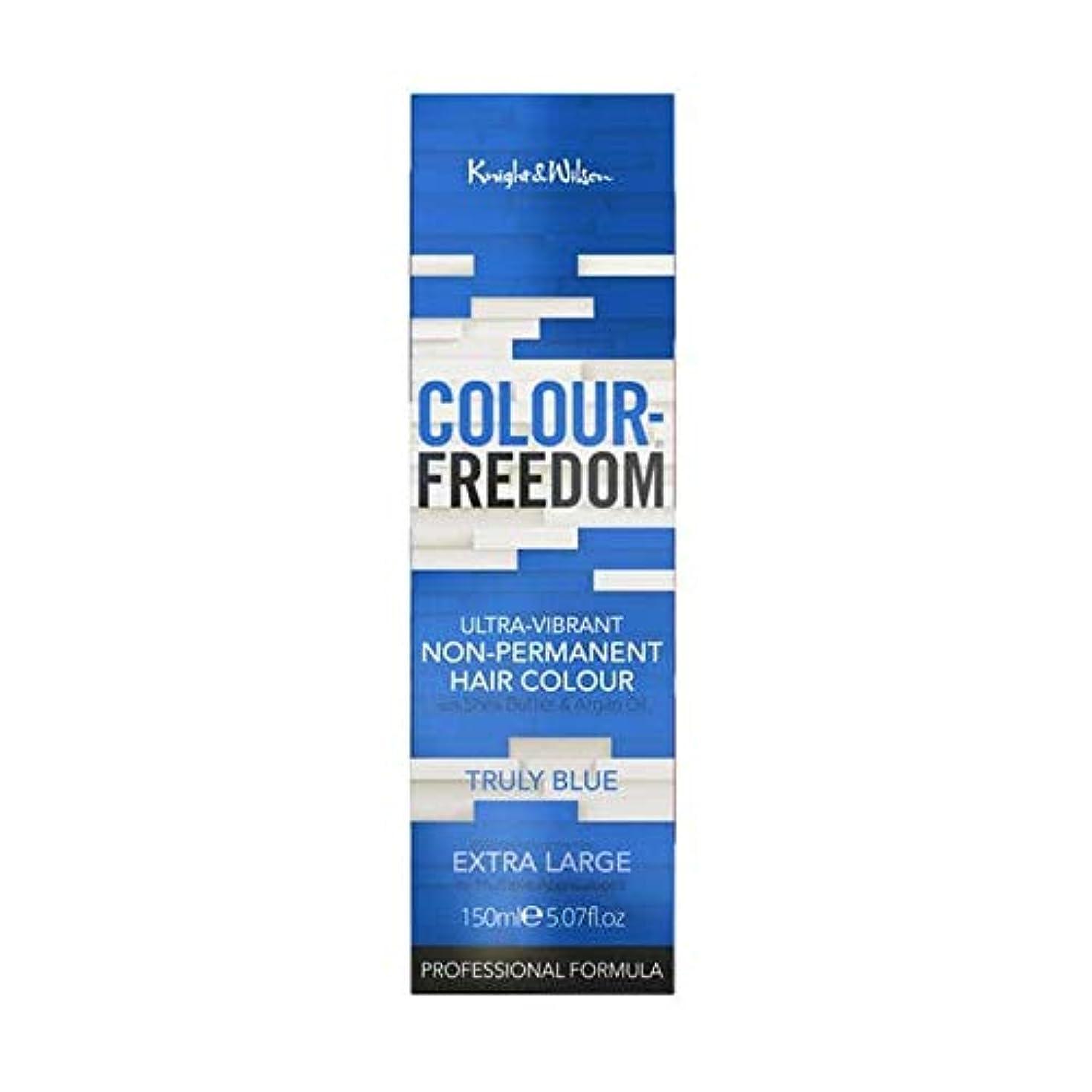 賭けアナロジー思い出させる[Colour Freedom ] 077真の青色の自由 - Colour Freedom Truly Blue 077 [並行輸入品]