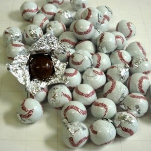 ベースボールチョコレート 業務用 1kg