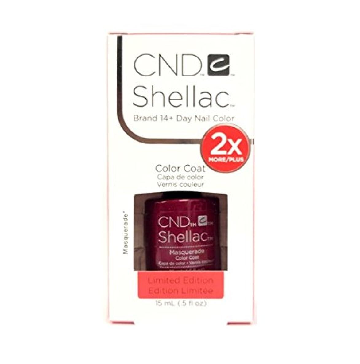干ばつ丈夫朝食を食べるCND Shellac - Limited Edition! - Masquerade - 15ml/0.5oz