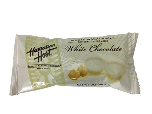 ハワイアンホースト・ジャパン マカデミアナッツチョコレート ホワイトチョコレート 21g(2粒)×12袋