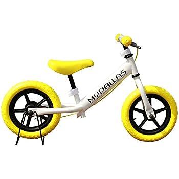 My Pallas(マイパラス)子ども用ペダルなし自転車 ちゃりんこマスター 12インチ MC-01 イエロー