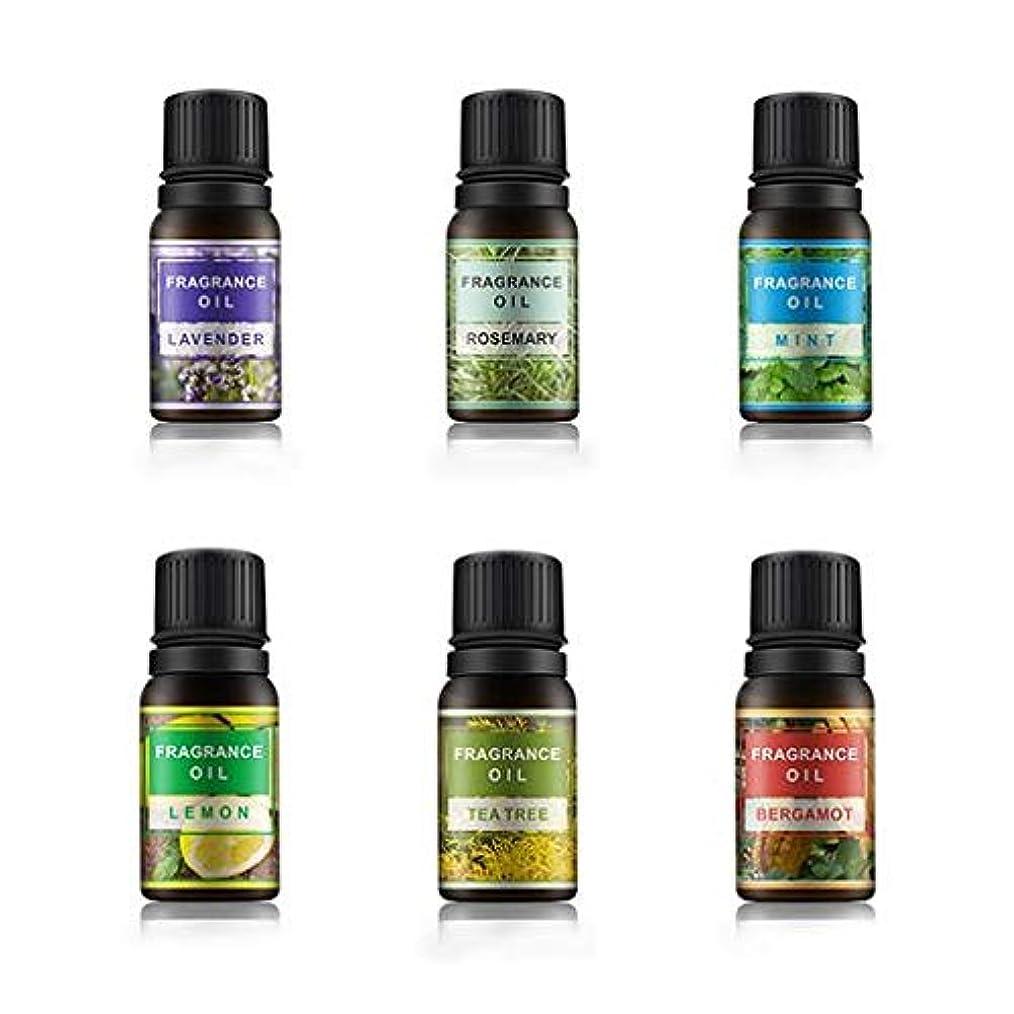 力強い雑草端Lioncorek エッセンシャルオイル オイル アロマオイル 精油 水溶性 ナチュラル フレグランス 100%純粋 有機植物 加湿器用 6種の香りセット