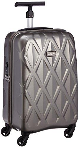 [アントラー] Antler 軽量スーツケース ATLAS 35L 2.1kg ヒノモトキャスター AATZ-50 チャコールグレー (チャコールグレー)