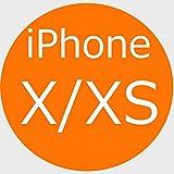 iPhone XS ケース 手帳型 本革 iphone X 良い触り心地 iphoneXSカバー 財布型 マグネット式 横置き機能 カード収納 Eugun 5.8in アイフォンX/XS用 オレンジ