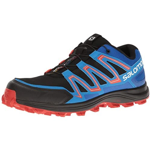 [サロモン] SALOMON トレイルランニングシューズ SPEEDTRAK L39062300 BLACK / BLUE YOUNDER / LAVA ORANGE (BLACK / BLUE YOUNDER / LAVA ORANGE/27)