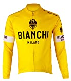 (ビアンキ)BIANCI LONG SLEEVE JERSEY 02607230 YEL イエロー M
