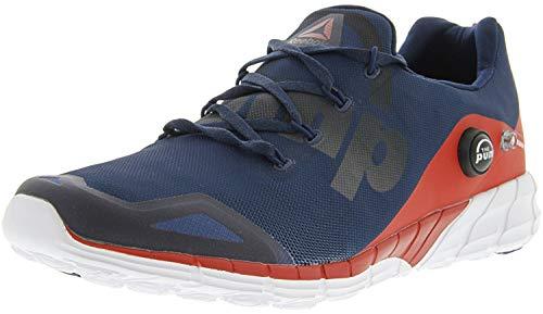 Reebok Men's Zpump Fusion 2.0 Blue/Red White Ankle...