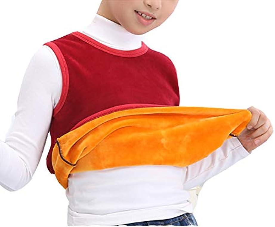 男の子のための子供の肩の温かいベストウォーマー#1