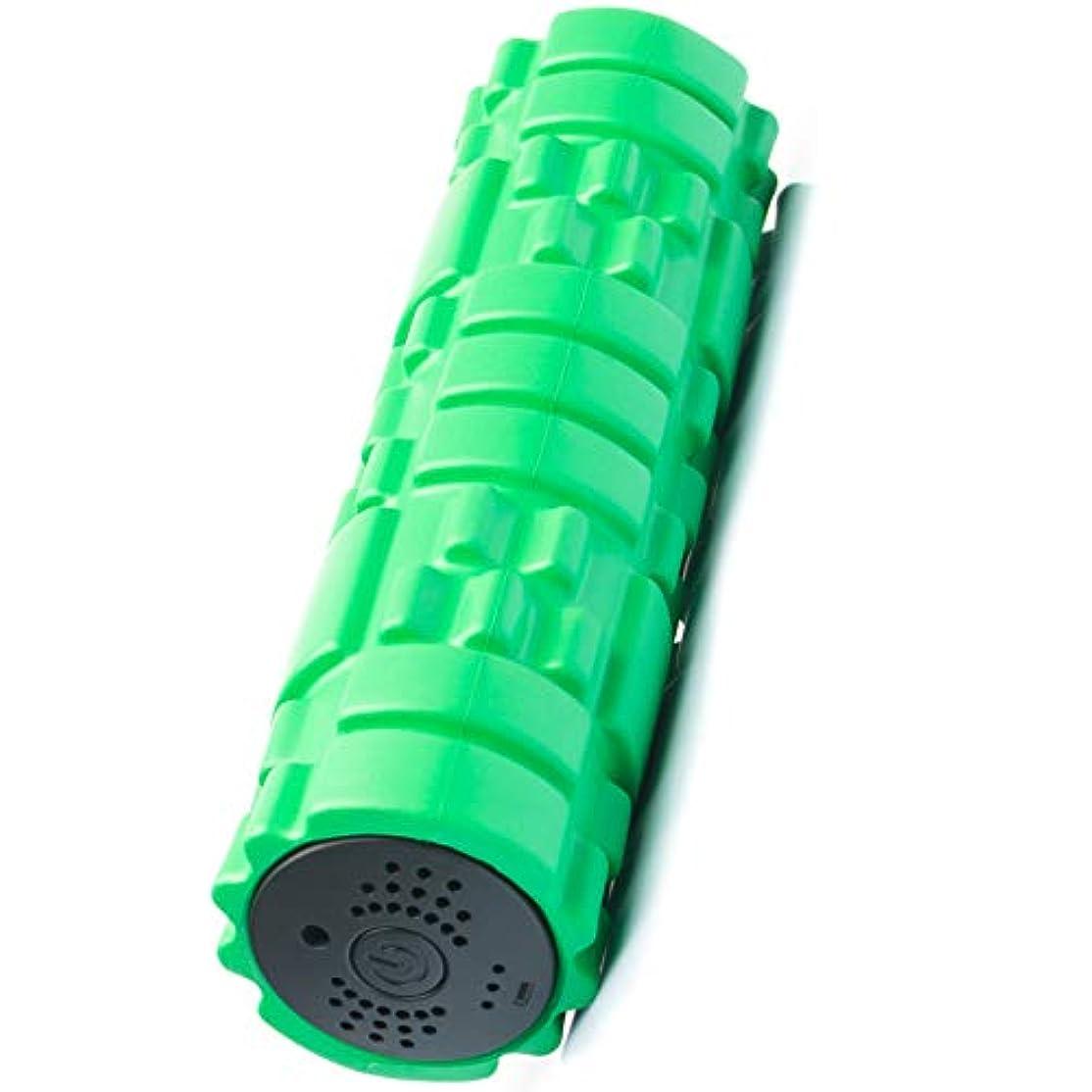 設計図分析する爆発SUVIUS Medium Vibrating Foam Roller – 4強度レベルFirm for battery-powered Deep Tissueリカバリ、トレーニング、マッサージ – Therapeutic...