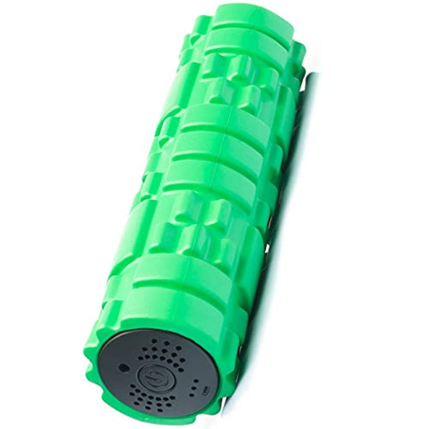 頑固な乱れ転倒SUVIUS Medium Vibrating Foam Roller – 4強度レベルFirm for battery-powered Deep Tissueリカバリ、トレーニング、マッサージ – Therapeutic...