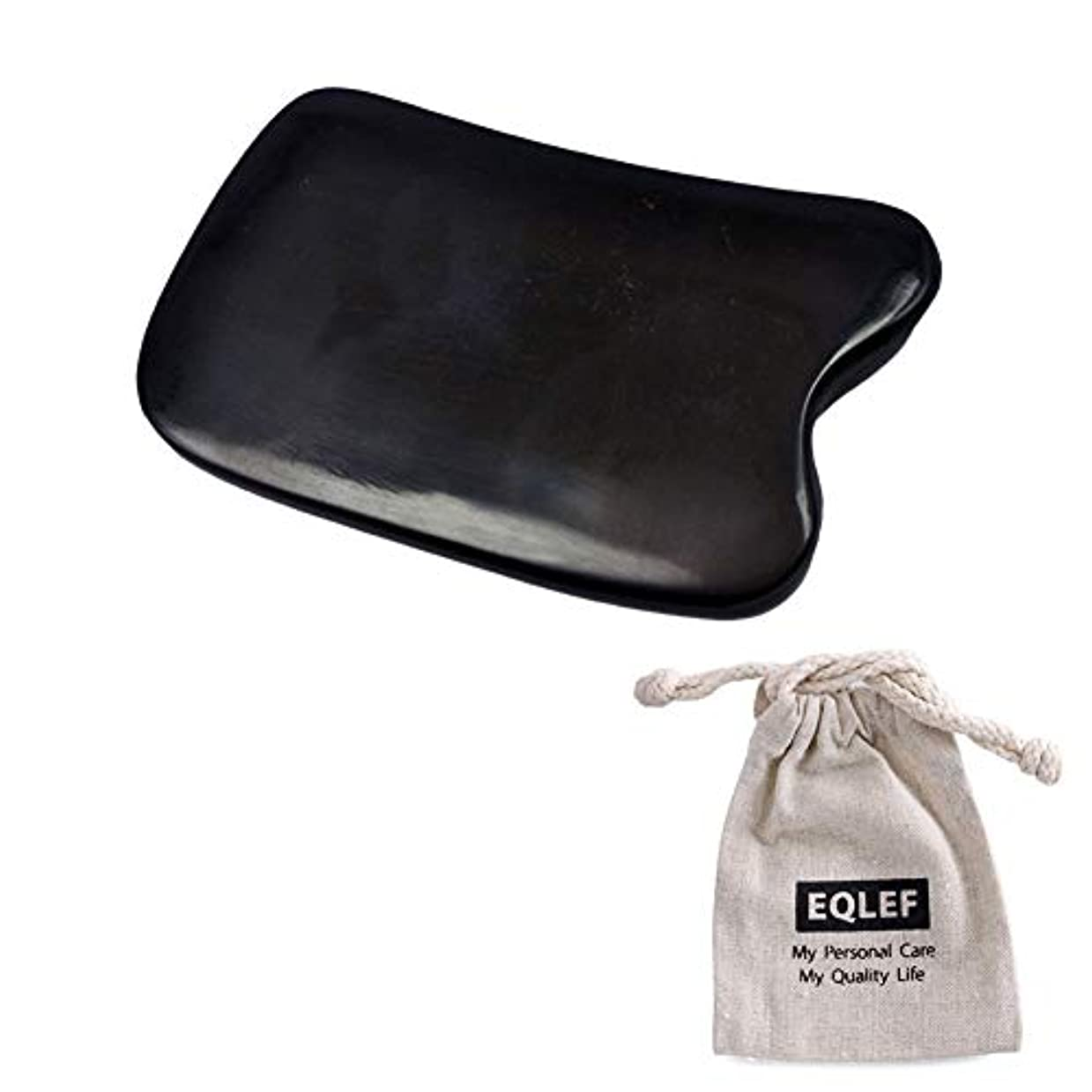 コメントグラス石鹸牛角カッサ カッサボード カッサマッサージ道具 プロも使っている なめらか仕上げの牛角かっさプレート 角形
