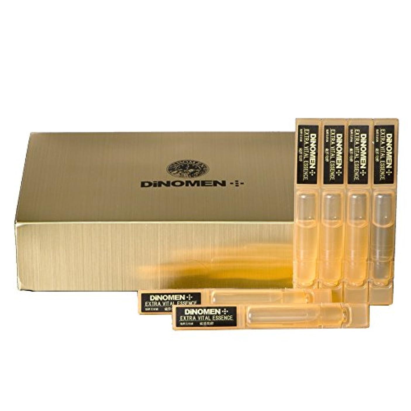 ペグ分布山岳DiNOMEN エクストラバイタルエッセンス 発酵美容液 30本入 男性化粧品