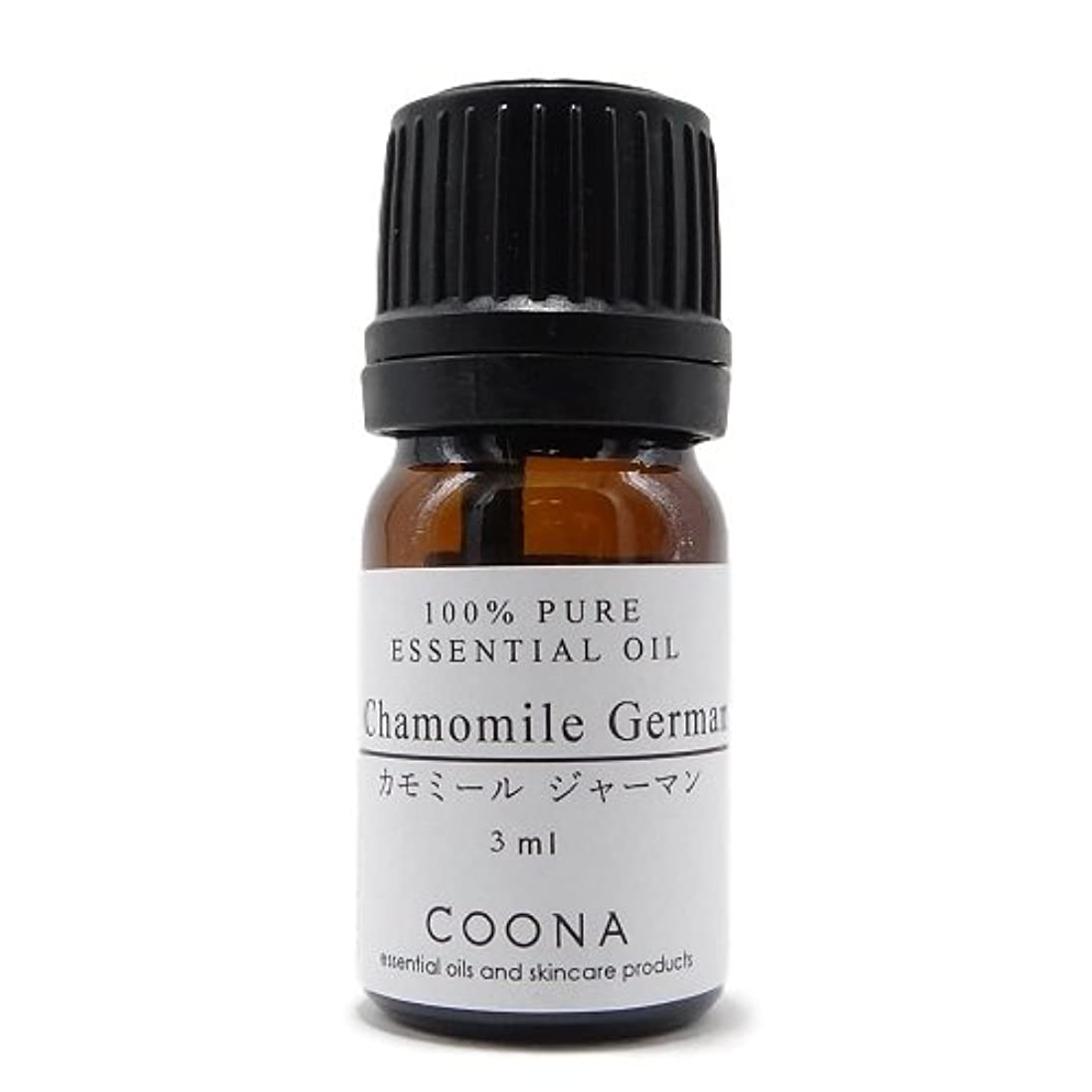 ローブ礼儀原稿カモミール ジャーマン 3 ml (COONA エッセンシャルオイル アロマオイル 100% 天然植物精油)