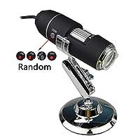 調節可能な明るさポータブル1600X / 1000X 8 LED 2MPデジタル顕微鏡CMOSセンサ付き手持ち式生物学的内視鏡