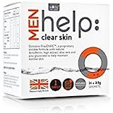 クリアな肌可溶性サプリメント(14 3.5グラム):水男性の助けを借りて動作します x4 - Works With Water Men's Help: Clear Skin Soluble Supplement (14...