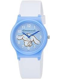 [シチズン キューアンドキュー]CITIZEN Q&Q 腕時計 シナモロール アナログ ウレタンベルト ブルー HC03-001 ガールズ