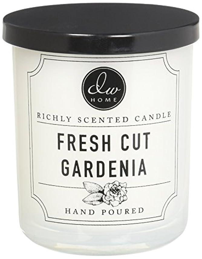 アクティビティ現実には誇張するDWホームFresh Cut Gardenia豊かな香りCandle Small Single Wick 4オンス
