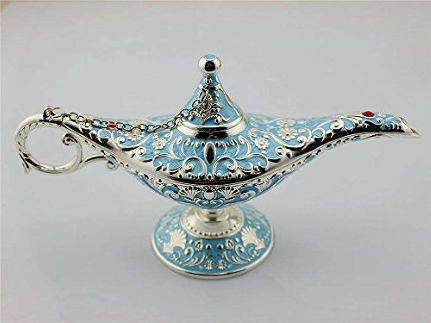 バズマウントデクリメントSY CraftsエナメルメタルAladdin Genie Lamps Incense Burners凡例Aladdin Magic Lamp