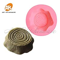 Tree Stump Silicone Cake Moulds Fondant Cake Decorations Tools Food Grade Chocolate Baking Tools Dining Bar Molds