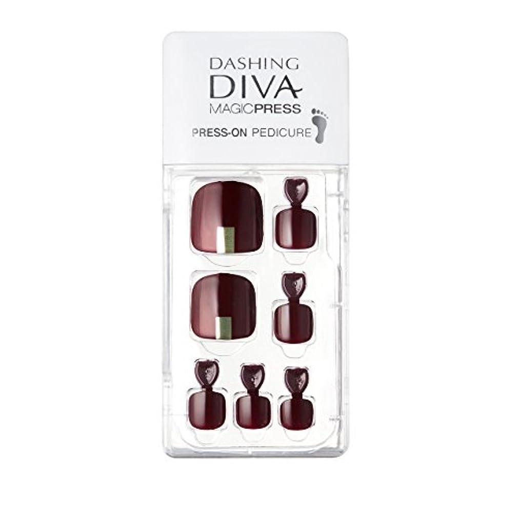 鈍い残酷でもダッシングディバ マジックプレス DASHING DIVA MagicPress MDR106P-DURY+ オリジナルジェル ネイルチップ