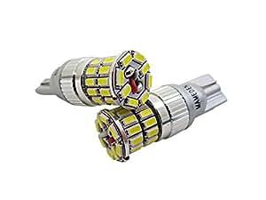 まめ電(MAMEDEN) LED T10 T16 ホワイト ポジション バックランプ MIRA-SMD