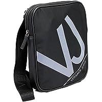 VERSACE JEANS(ヴェルサーチジーンズ) 斜め掛けショルダーバッグ ブラック/グレー E1YLBB14-4899 [並行輸入品]