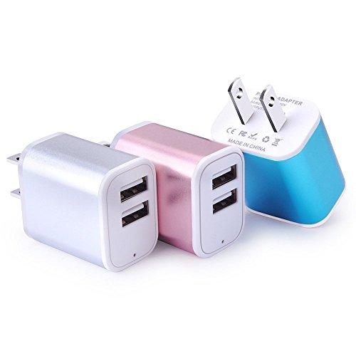 ACアダプター USB電源アダプタ スマホ充電器 AC充電器...
