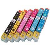 FFPパッケージ】EPSONインクカートリッジ IC6CL80L 6色セット 【増量タイプ】 残量表示機能付 良質純正互換インクカートリッジ