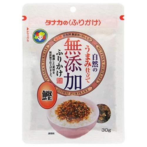 田中食品 無添加ふりかけ 鰹 30g×10袋入×(2ケース)
