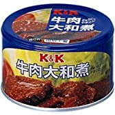 K&K 牛肉大和煮 EO缶 160G 1缶