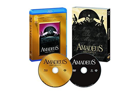 アマデウス 日本語吹替音声追加収録版 ブルーレイ&DVD(2枚組) [Blu-ray]