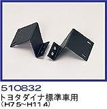 JETイノウエ製バンパー【専用取付けステー】 2t標準(トヨタダイナ用)