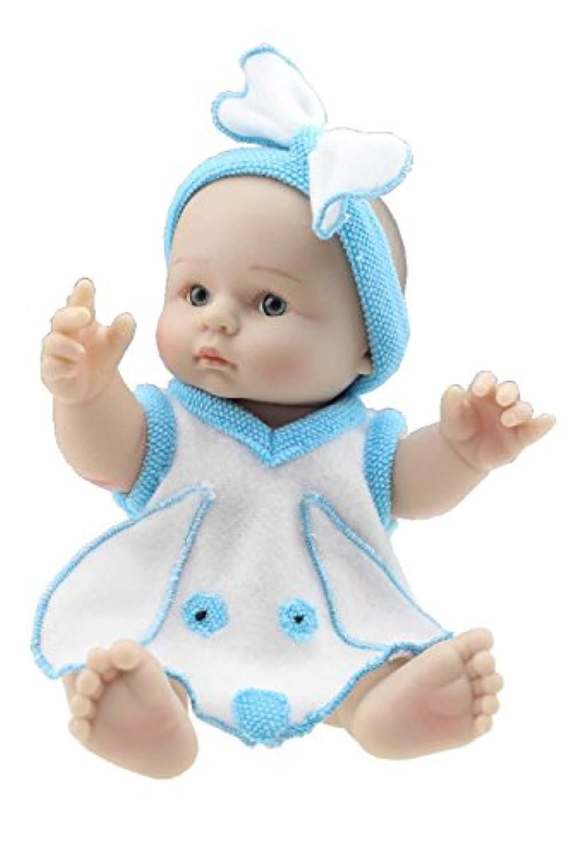 Mini 8インチReborn Baby Doll Boyフルシリコンビニール赤ちゃん男の子Lifelike人形for Children Kids誕生日ギフト