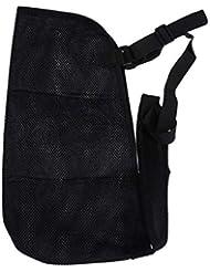 Healifty メッシュ通気性前腕スリングアーム骨折バンドメッシュアームスリングアジャスタブルショルダーイモビライザーメディカルスリング(壊れたアーム用) - フリーサイズ(黒)