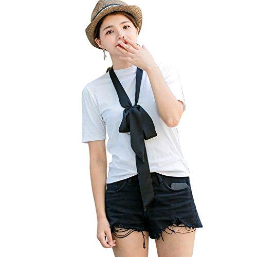 Pakaze Rew小さいスカーフの女性 の細い長条 スカーフ 夏 マフラー ベルト リボン バッグはリ ボンを飾ります 旅行 通勤用 スカーフ ギフト春秋 マフラー おしゃれ レディース